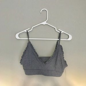 Urban Outfitters Grey/Blue Cute Bralette